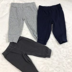 Other - 3 Cotton Carter's Joggers